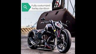 Harley Davidson costumized