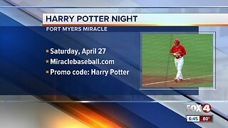 Miracles host Harry Potter night in Fort Myers