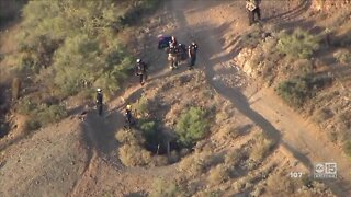 Rescue crew describes rescue of teen from a mine shaft