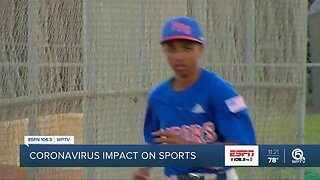 Sports in Palm Beach County impacted by the Coronavirus