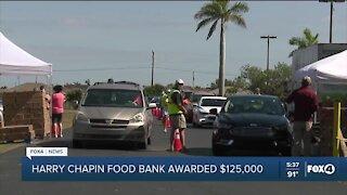 Harry Chapin Food Bank awarded $125,000
