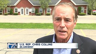 Chris Collins responds to Chris Jacobs NY-27 announcement