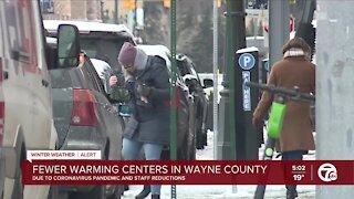 Warming centers open across metro Detroit ahead of frigid temperatures
