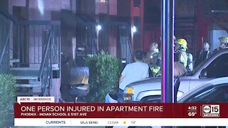 Apartment fire breaks out near 51st Avenue and Indian School Road