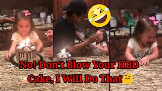 Try Not To Laugh   Watch People Die Inside Compilation #5   No I Will Blow your HB'D Cake!