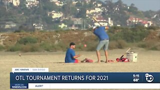 Over-the-Line tournament returns to Fiesta Island after pandemic cancellation in 2020