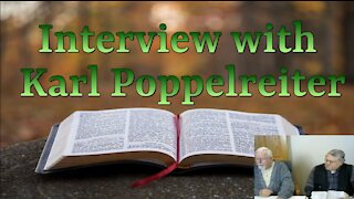Interview with Karl Poppelreiter on Down to Earth but Heavenly Minded Podcast
