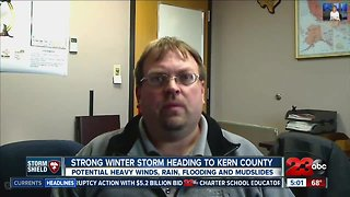 How to prepare for strong storm impacting Kern County