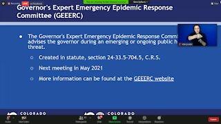 CDPHE update on COVID-19
