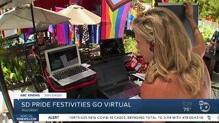 San Diego Pride festivities go virtual
