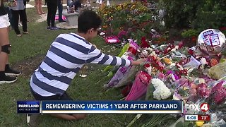 Parkland community honors shooting victims
