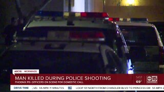 Man shot, killed by police in Ahwatukee neighborhood