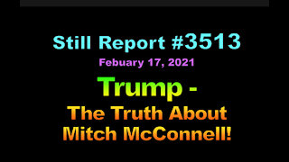 Trump – The Truth About Mitch McConnell!, 3513