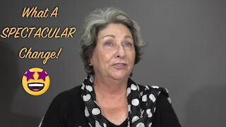 Dramatic Silver Hair: A MAKEOVERGUY® Makeover