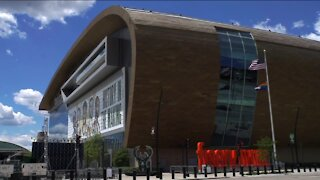 Limited parking available near Fiserv Forum for Bucks game