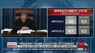 Bakersfield residents react to President Trump's acquittal