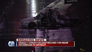 1 Killed in Detroit Crash