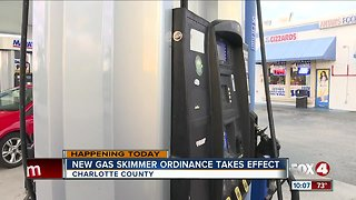 Anti-skimmer ordinance takes effect in Charlotte County