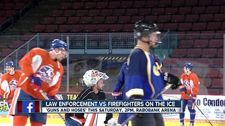 Annual 'Guns and Hoses' game taking place this weekend