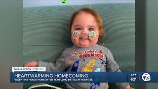 Riverview baby heads home after year-long battle in hospital