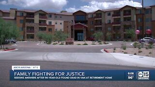 Family fights for justice after man found dead in van outside retirement home