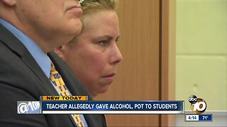 Teacher accused of buying drugs, alcohol for students