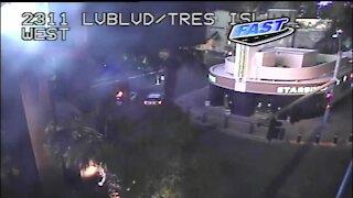 TRAFFIC UPDATE: Roads reopen following barricade on Las Vegas Strip