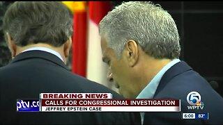 Florida lawmaker calls for congressional investigation into accused sex predator Jeffrey Epstein