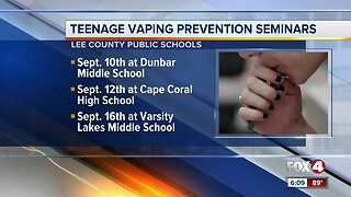 Lee County Public Schools hold Vaping prevention seminar