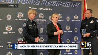 Valley woman helps solve a deadly hit-and-run