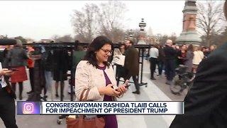 "Rep. Rashida Tlaib: 'We're gonna impeach the motherf***er."""