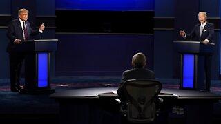 President Trump and Biden Spar In Noisy First Presidential Debate