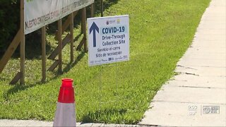 All state-supported COVID-19 testing sites temporarily closing ahead of Tropical Storm Isaias