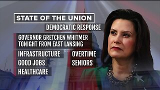 Gov. Whitmer preps to give State of the Union response tonight
