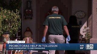 Tolleson goes door-to-door to stop COVID-19 spread