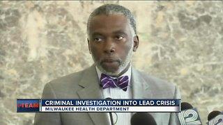 Milwaukee health department under criminal investigation