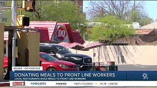 Tucson restaurant giving meals to healthcare workers, first responders