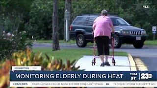 Monitoring the elderly during triple-digit heat