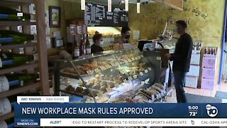 New California workplace mask rules approved