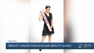 Breast cancer survivor wins Ms. Florida beauty pageant