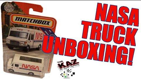 Nasa Matchbox Car Quasi-Unboxing