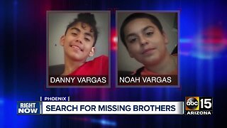 Phoenix police searching for two missing young brothers