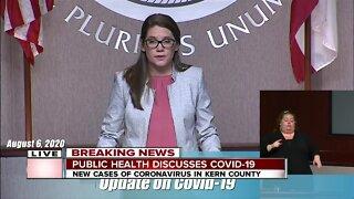 Kern County Health Department Coronavirus Update: August 6, 2020
