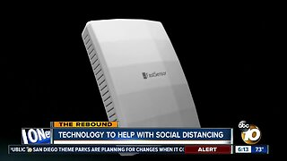 Technology to help with social distancing