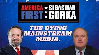 The dying mainstream media. John Solomon with Sebastian Gorka on AMERICA First