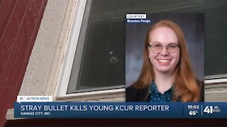 Stray bullet kills young KCUR reporter