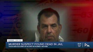 Murder suspect found dead in jail