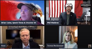 Brian Cates Interviews Cybersecurity experts Col. Phil Waldron & Russ Ramsland
