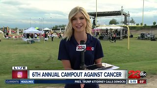 Campout Against Cancer forecast
