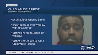 Man arrested for child abuse in Lee County